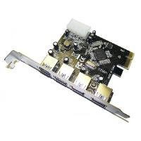 Dynamode USB-4PCI-3.0 4 Port USB3.0 PCie Card