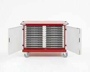 LapSafe Midi Mentor SmartLine E20 Laptop Storage Trolley