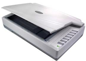 *Plustek OpticPro A320 A3 Flatbed Scanner