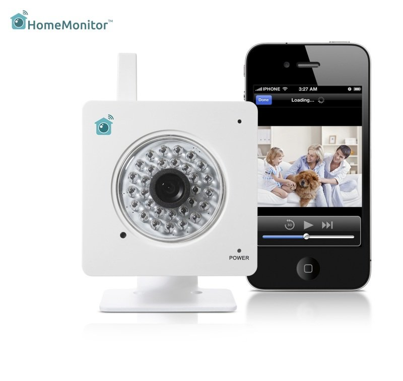 Y-Cam YCHME01 HomeMonitor Indoor Camera - White - Ebuyer
