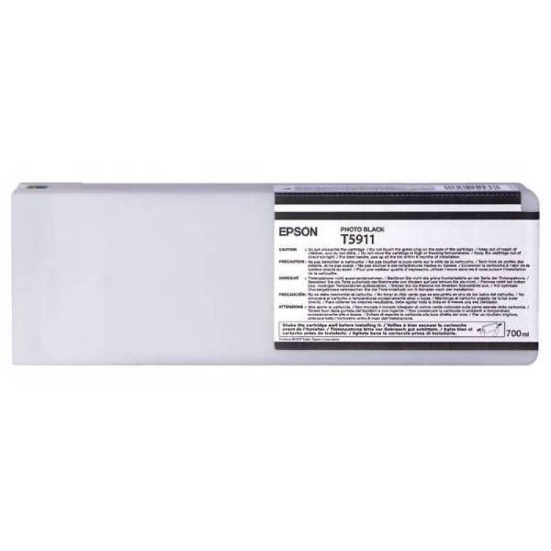 Epson T5911 - Print cartridge - 1 x photo black