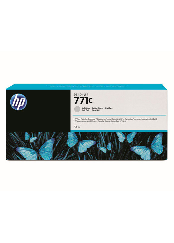 HP 711C 775-ml Light Gray Ink Cartridge - B6Y14A