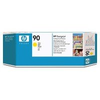 HP 90 Yellow Original Printhead & Printhead Cleaner For use with - Selected Printers* - C5057A