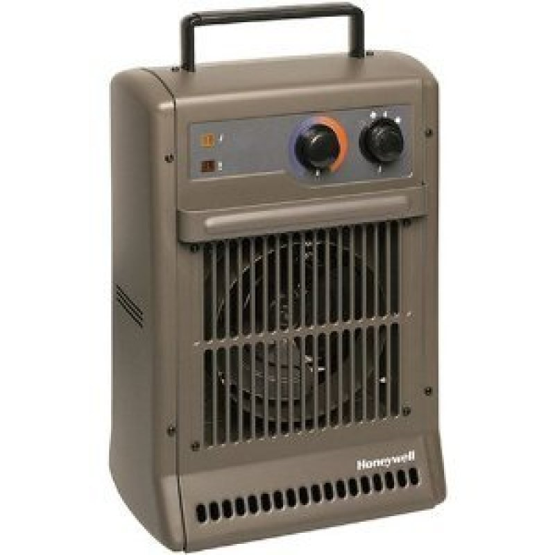 Heavy Duty Fan Heater Grey 2500w 3 Heat Settings 3 Year Warranty