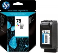 HP 78 Tri-Colour Inkjet Print cartridge - C6578A