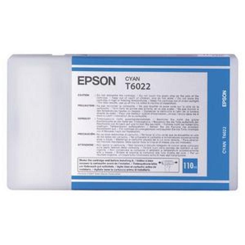 Epson T6022 - Print cartridge - 1 x cyan