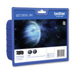 Brother LC1280XLBKBP2 - Print cartridge - high capacity - 2 x black - 2400 pages - blister