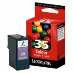Lexmark 35XL Colour High Capacity Ink Cartridge