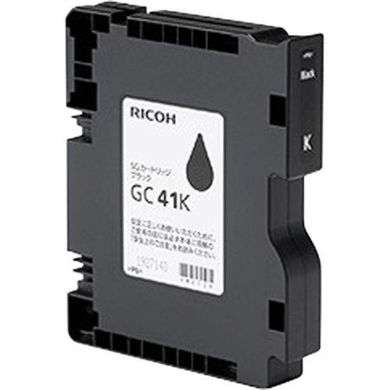 Ricoh GC41k Geljet High Yield Black Inkjet Cartridges - 2,500 yield