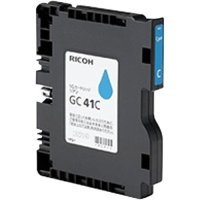 Ricoh GelJet GC41C Cyan Ink Cartridge (2200 Prints)