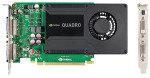 PNY Quadro K2000D 2GB GDDR5 Dual-DVI 2xDisplayPorts PCI-E Graphics Card