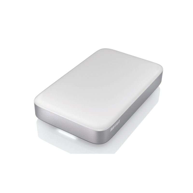 Image of Buffalo 128gb Ministation Ssd Thunderbolt & Usb3.0 Portable External Ssd Silver