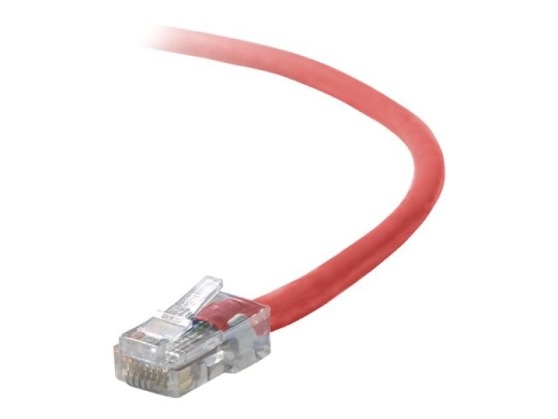 Belkin Cat5e Assembled UTP Patch Cable (Red) 1m