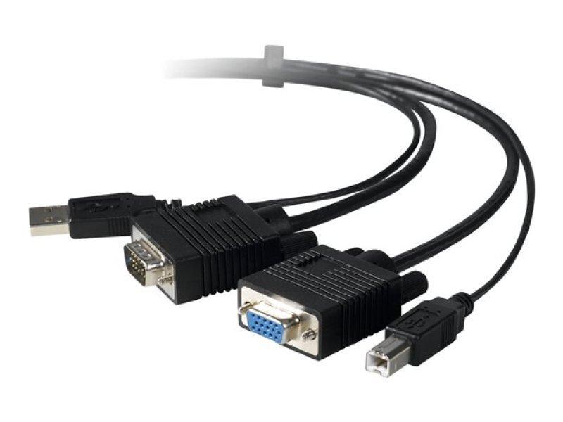 Belkin Omniview Pro2 Series Plus Video/USB KVM Cable 1.8m