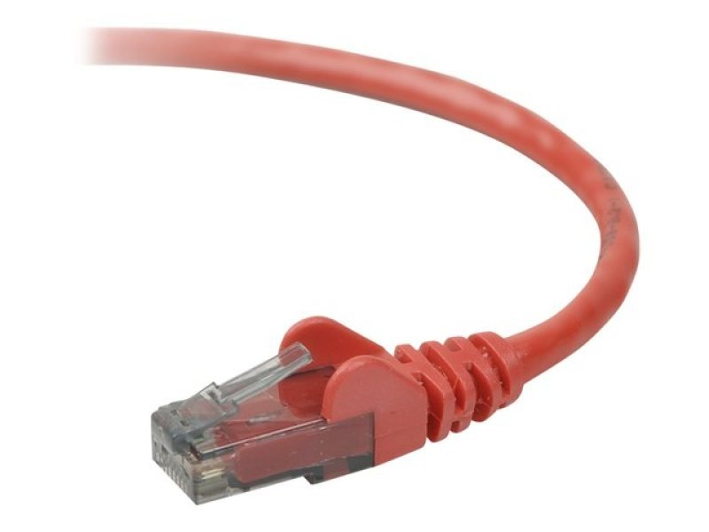 Belkin Cat6 Snagless UTP Patch Cable Red 3m
