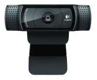 Logitech C920 Webcam with 1080p recording and 720p video calling