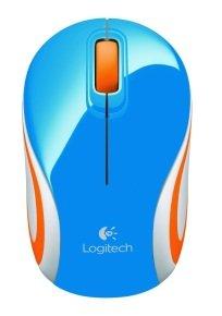 Logitech Wireless Mini Mouse M187 - Blue