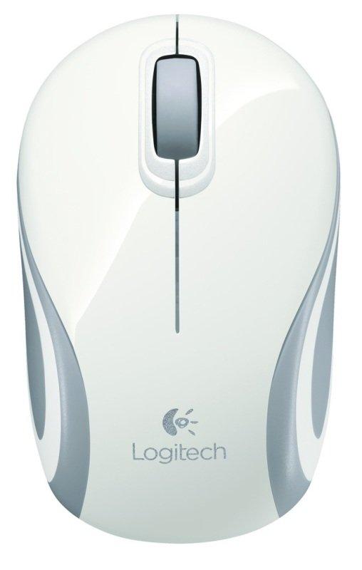 Image of Logitech Wireless Mini Mouse M187 - White