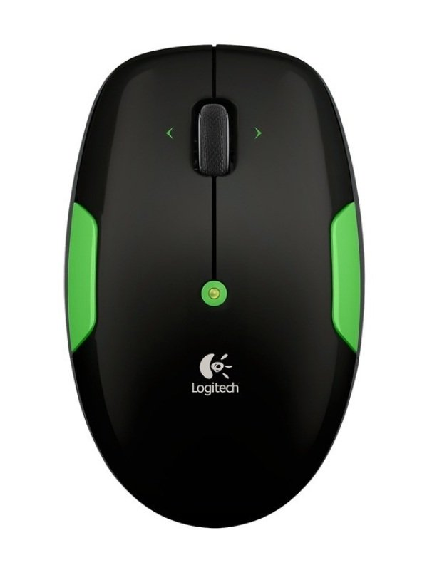 Logitech M345 2.4Ghz Wireless Mouse Lime Green