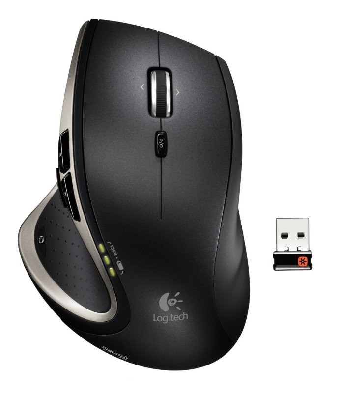 Logitech Performance Mouse MX with Darkfield Laser Tracking - USB with Nano Dongle
