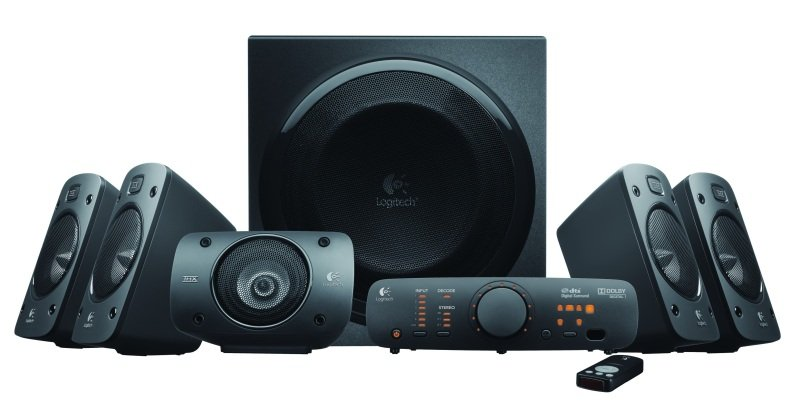Logitech Z906 Surround Sound 5.1 Speaker...