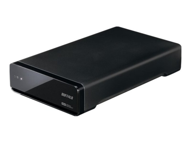 Image of Buffalo Drivestation Media 1tb Usb3.0 - Recommended For Panasonic Tv Camcorders