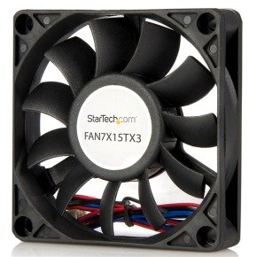StarTech 70x15mm Replacement Ball Bearing Case Fan w/ TX3 Connector