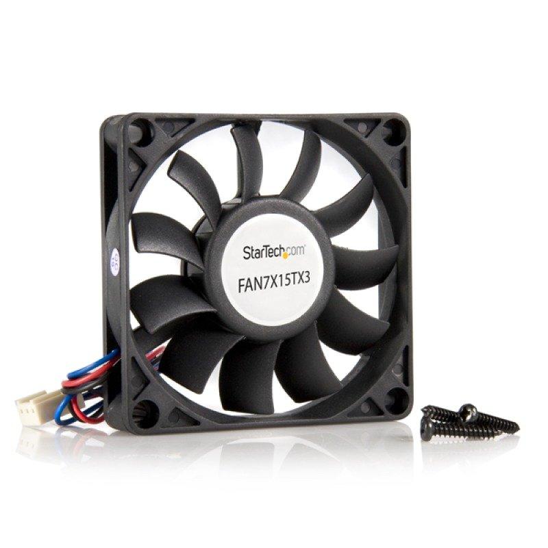 StarTech 70x15mm Replacement Ball Bearing Case Fan w/ TX3 Connector