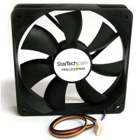 StarTech 120x25mm Computer Case Fan with PWM Pulse Width Modulation Connector