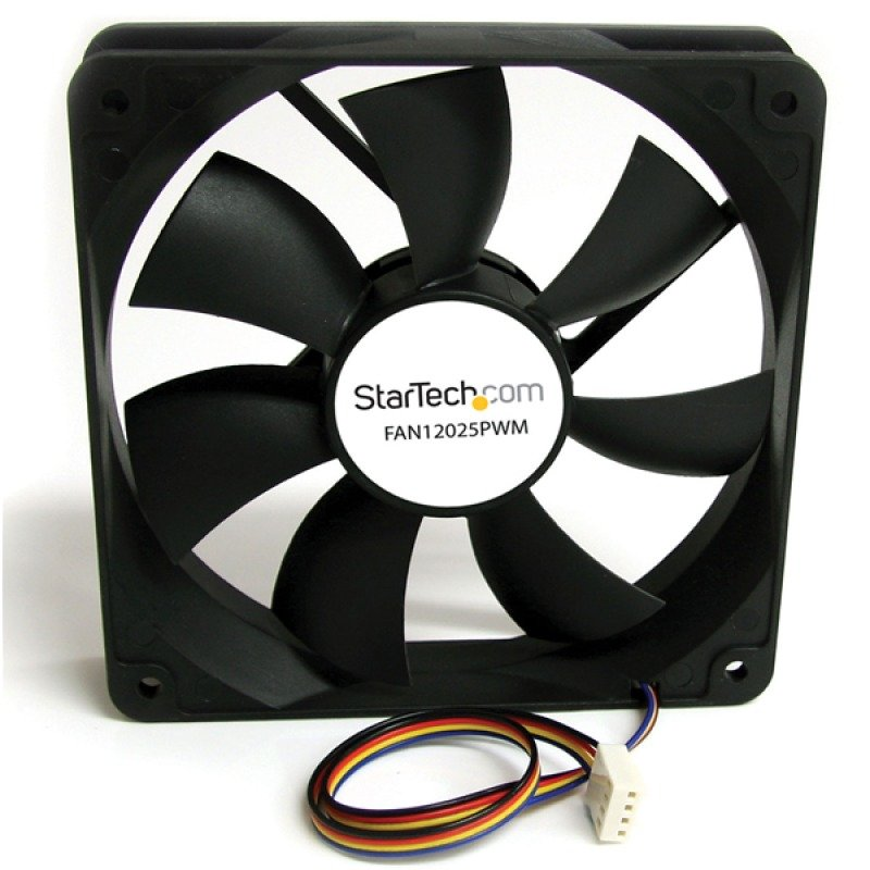 Image of StarTech 120x25mm Computer Case Fan with PWM Pulse Width Modulation Connector