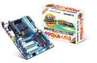 Gigabyte GA-990XA-UD3 Socket AM3+ 7.1-Channel HD Audio ATX Motherboard