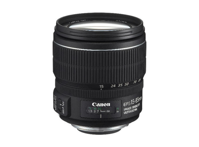 Image of Canon EF-S Zoom lens - 15 mm - 85 mm - F/3.5-5.6