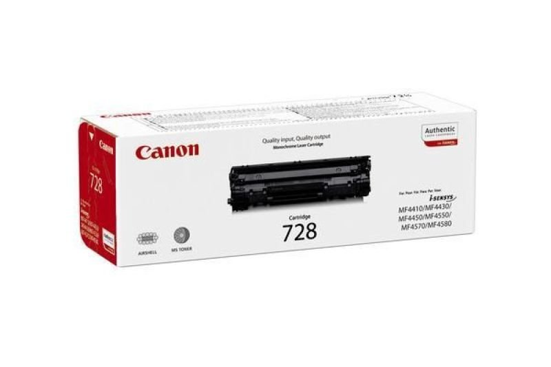 Canon CRG 728 Black Toner Cart