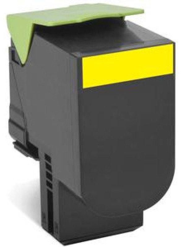 Lexmark 802SY Yellow Toner Cartridge