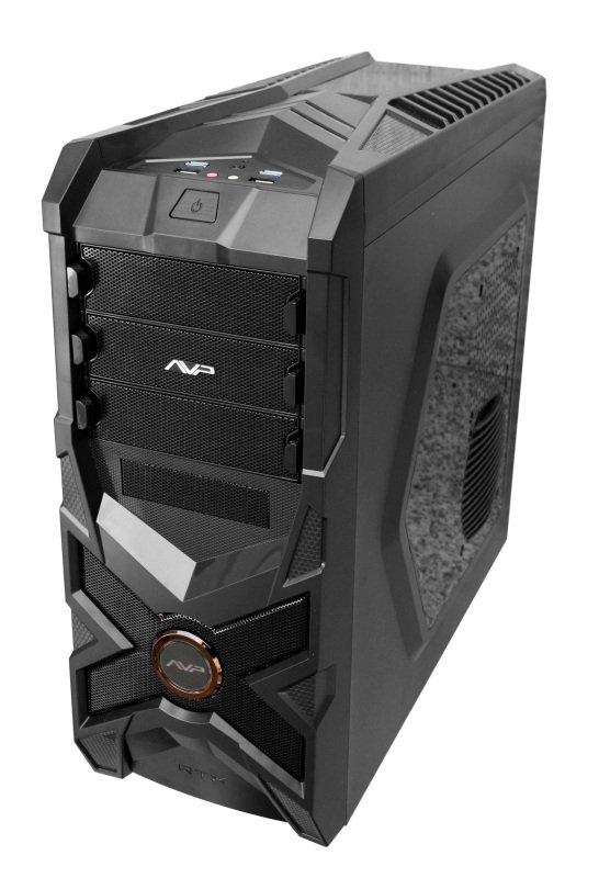 AvP X-Striker A5 Mid Tower Inverted ATX Black Case USB 3.0