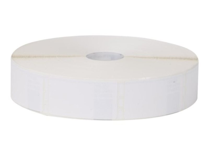 Slp-mrlb White Label For Tray - 28x51mm 1700 Lab/roll 1 Roll/box In