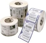 3 ROLLS Z-SELECT 2000T LABELS; - 102 X102MM 3 ROLLS 5319 RIBBONS