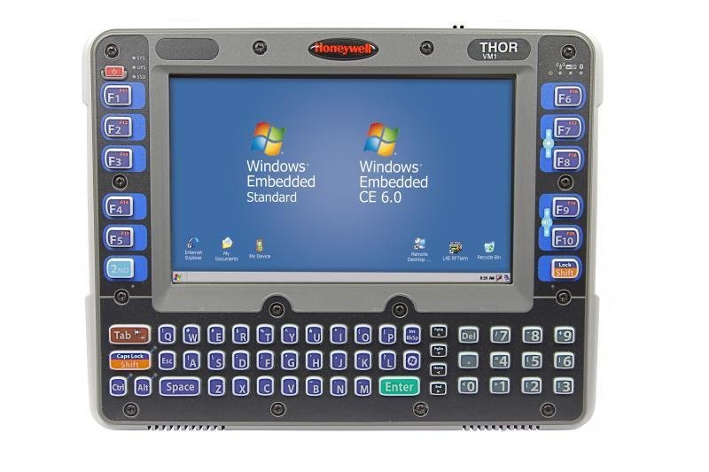 Front Panel: Ansi Keyboard With Standard Touch Screen