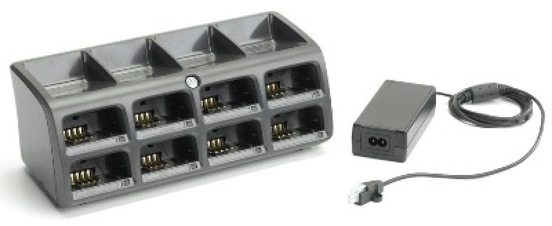 Zebra 8 Slot Battery Charger Kit