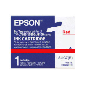 Ink Cartridge Red - For Tm-j7100