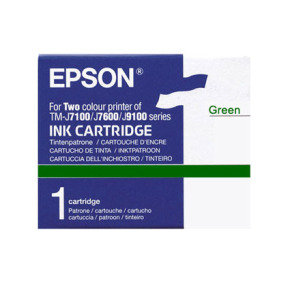 Ink Cartridge Green - For Tm-j7100