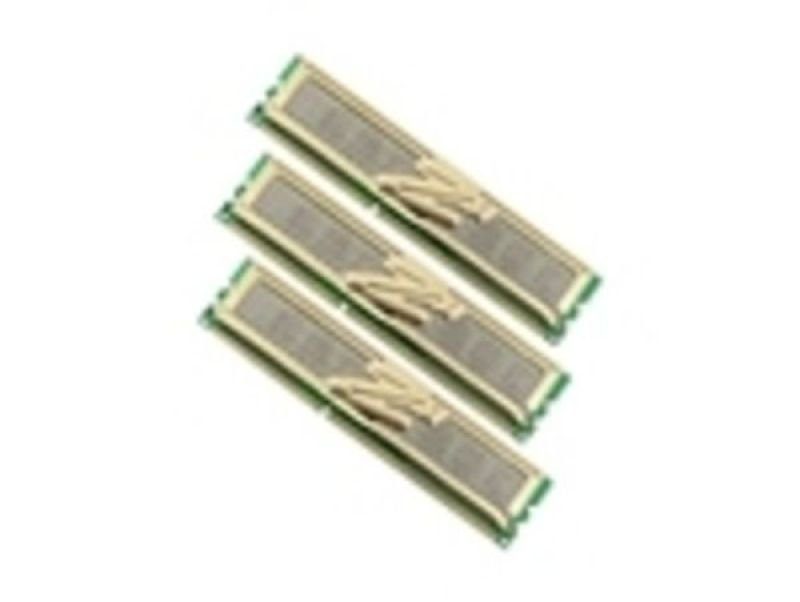 OCZ 6GB (3X2GB) DDR3 1333MHz/PC3-10666 Gold XTC Triple Channel Memory Kit For i7 Motherboards