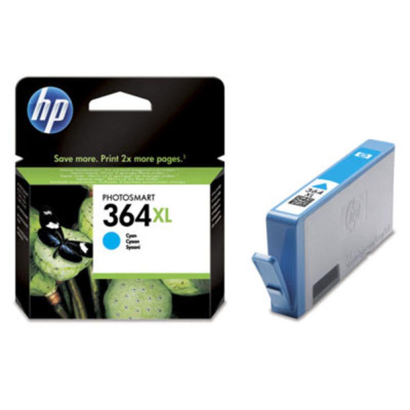 HP 364XL Cyan Ink Cartridge - CB323EE