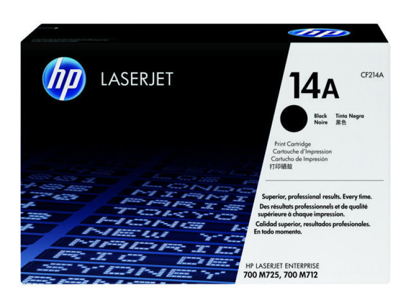 HP 14A Black Laser Toner Cartridge