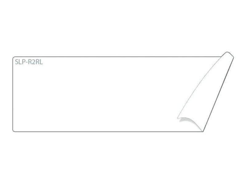 Slp-2rl White Label 28x89mm - 130 Lab/roll 2 Roll/box In