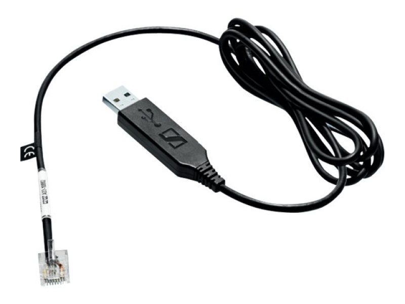 Sennheiser CEHS-CI 02 Accessories for DW Office / Pro 1 / Pro2 (Cisco adapter cable for Electronic Hook Switch - USB connect to Cisco 8900/9600 phones)