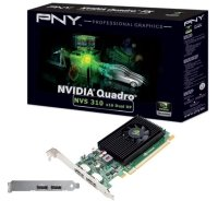 NVIDIA NVS 310 512MB DDR3 2 x DisplayPort PCI-E Low Profile Graphics Card