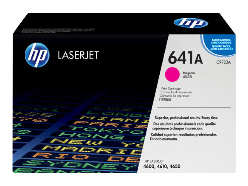 HP 641A Magenta Original LaserJet Toner Cartridge  C9723A