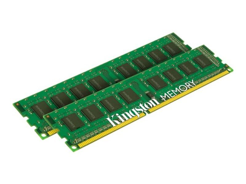 Kingston 8GB 1333MHz DDR3 Non-ECC CL9 DIMM SR x8 (Kit of 2) STD Height 30mm