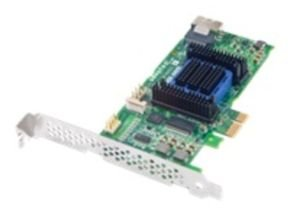 Adaptec 2271700-R 6405E (4 Internal Port) Low-Profile MD2 with PCIe x1, SAS 2.0 & Gen 2 PCIe Unified Serial RAID Controller